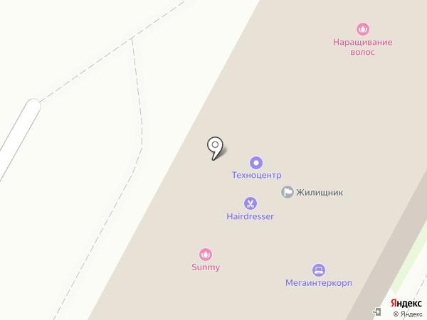 Балт Бет на карте Бердска