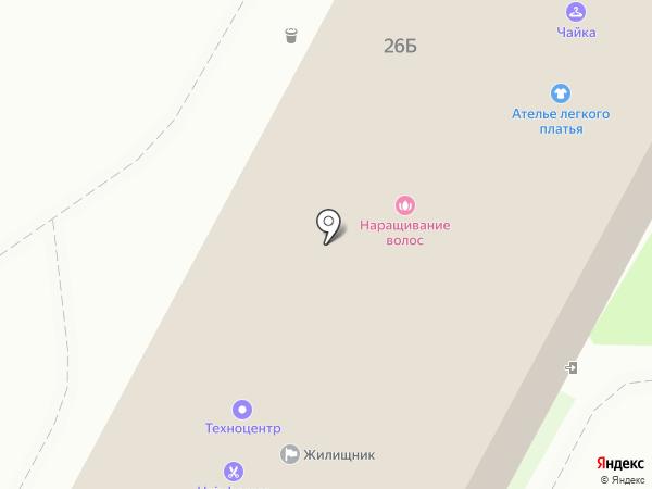 Ателье легкого платья на карте Бердска