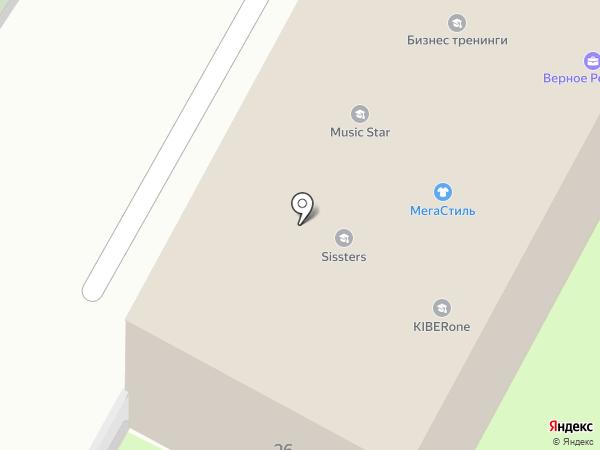Славия, ЗАО на карте Бердска