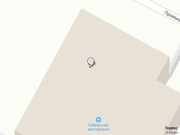 Лептон на карте Бердска