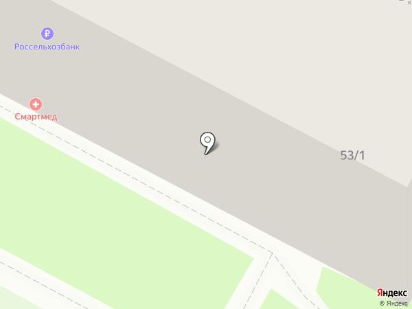 Новосибирскэнергосбыт на карте Бердска