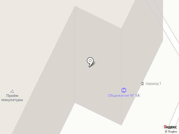 Инжевика на карте Новосибирска