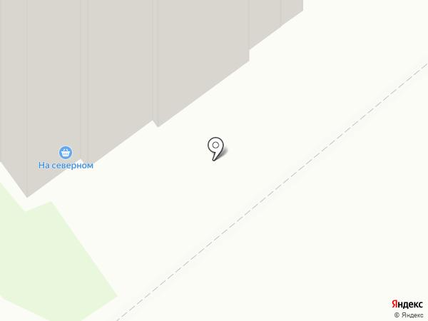 На северном на карте Бердска
