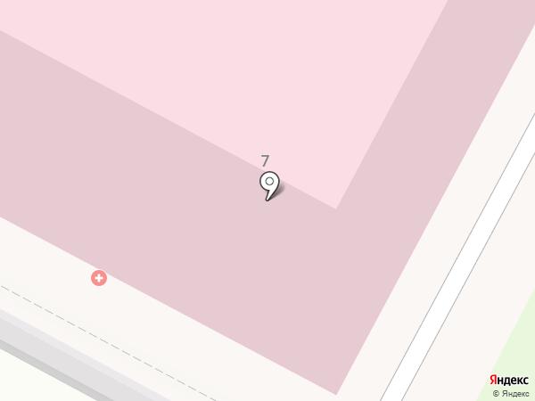 Детская поликлиника №1 на карте Бердска