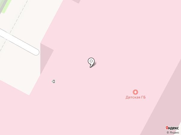Детская поликлиника на карте Бердска