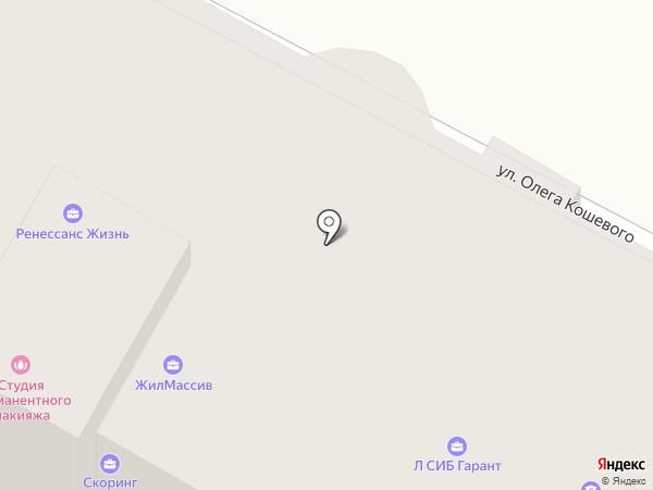 Аспект на карте Бердска