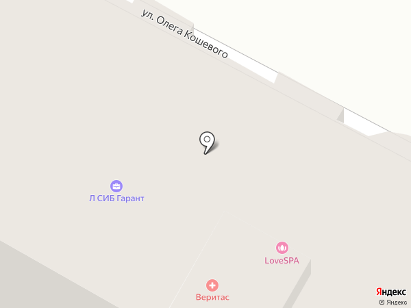 ЛиГа на карте Бердска