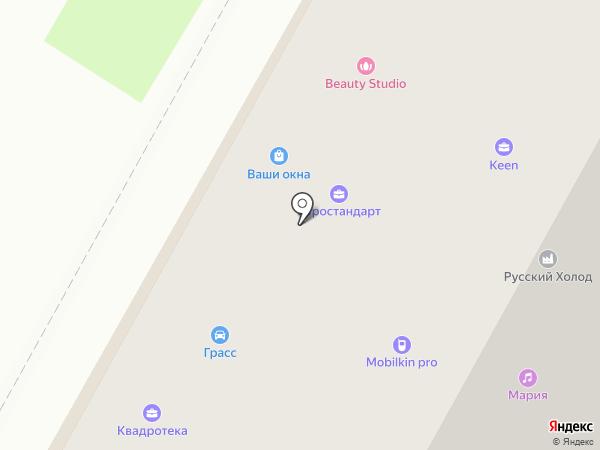 ЕВРОСТАНДАРТ на карте Бердска