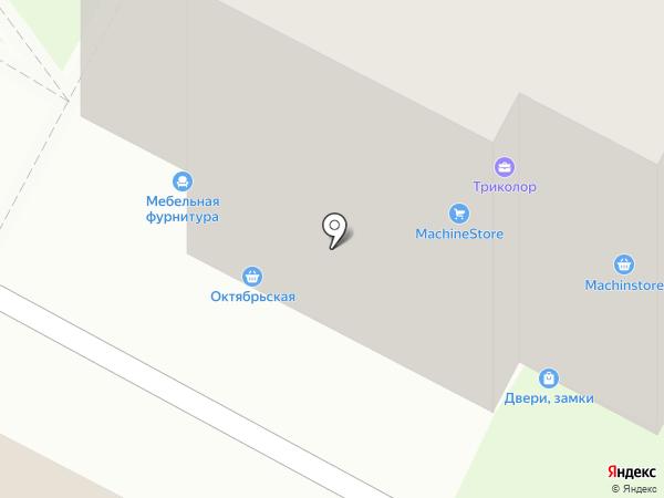Магазин нижнего белья на карте Бердска