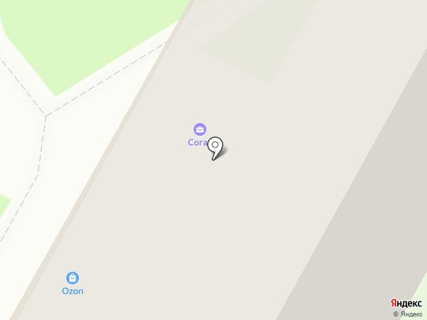 Облака на карте Бердска