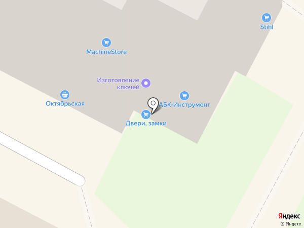 Сервис Двери на карте Бердска