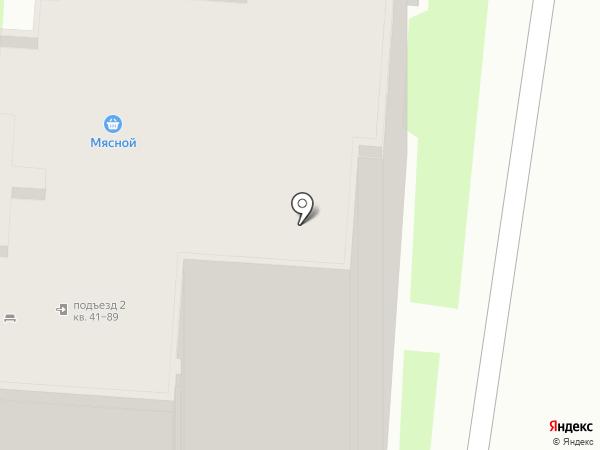 Галатея на карте Бердска