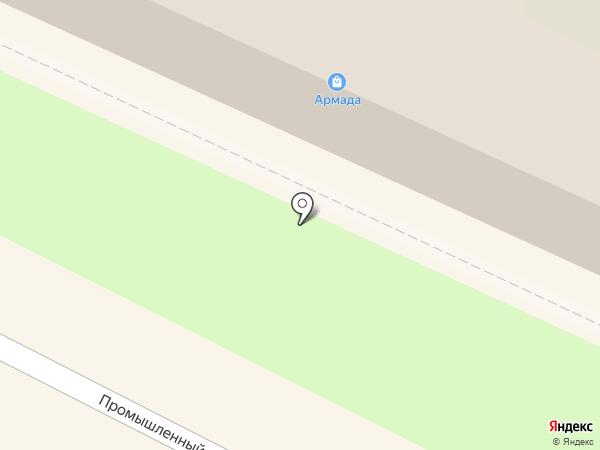 Армада на карте Бердска