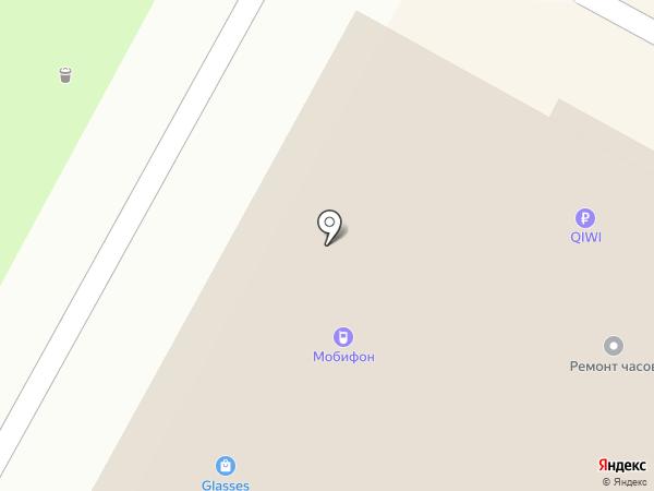 Ночной на карте Бердска