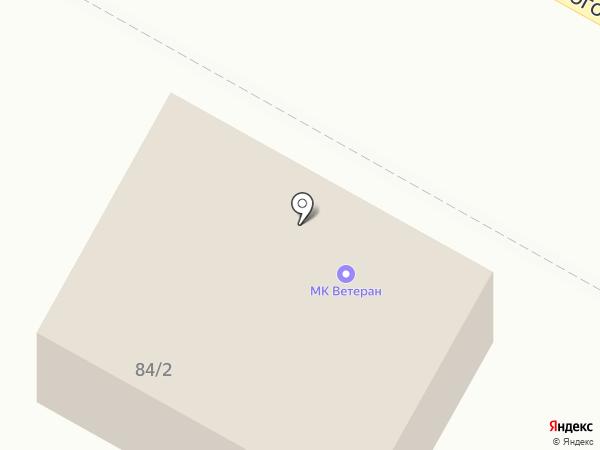 Ветеран на карте Бердска