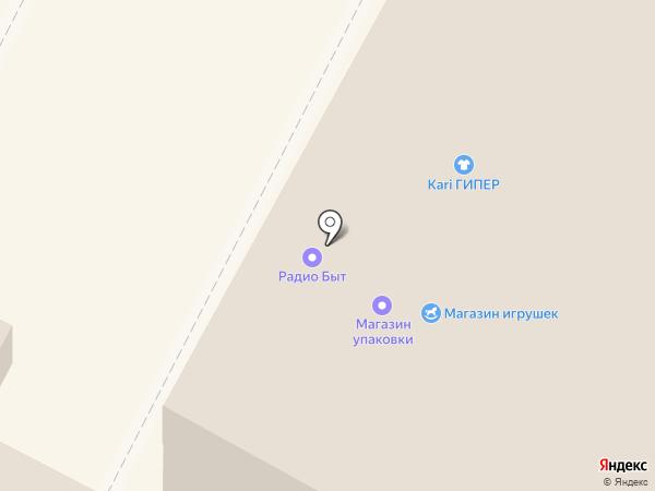 Витрина на карте Бердска