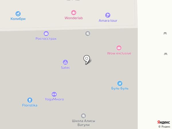 Сибирский Дом на карте Бердска