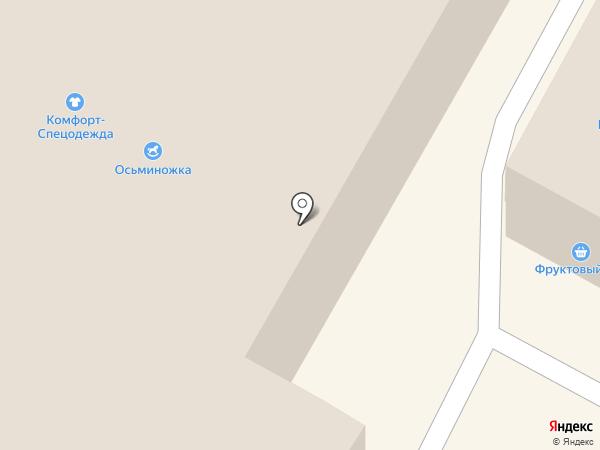 Модный Бунт на карте Бердска