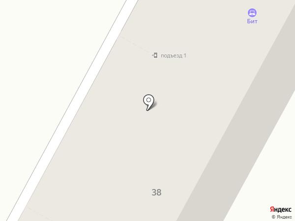 Бит на карте Бердска