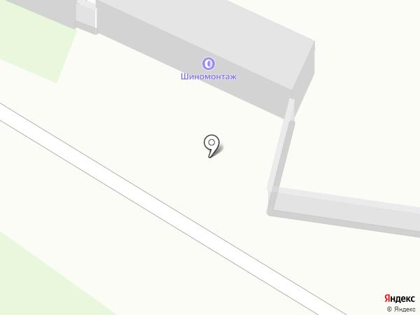 Шиномонтажная мастерская на карте Бердска