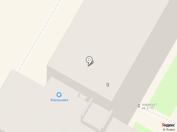 Хорошава на карте Бердска