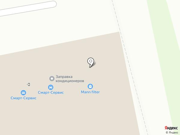 Смарт-Сервис на карте Бердска