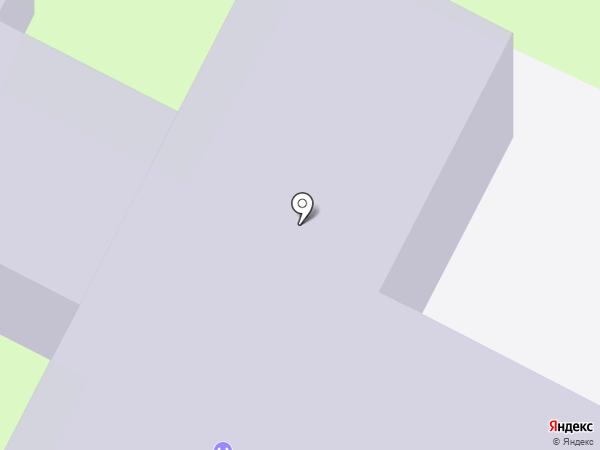 Средняя общеобразовательная школа №9 на карте Бердска