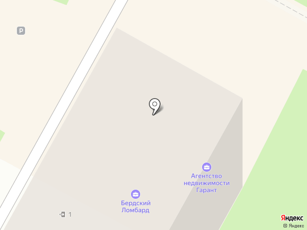 Салон ювелирных изделий на карте Бердска