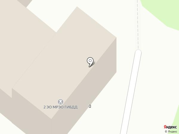 Межрайонный экзаменационный отдел №1 ГИБДД на карте Бердска