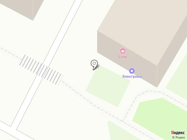 Электрика на карте Бердска