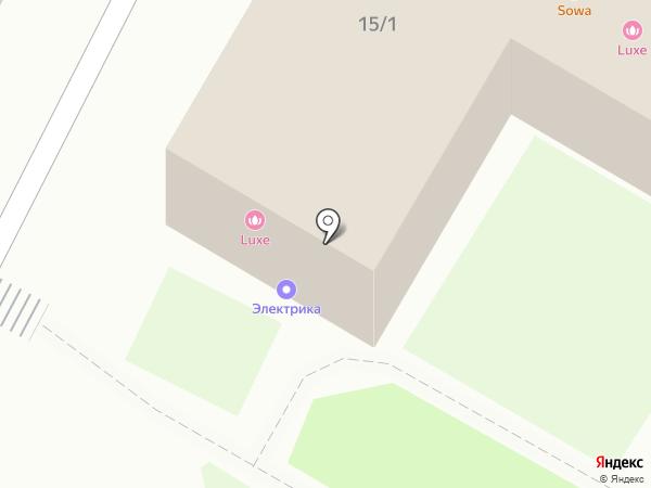 Стол заказов на карте Бердска