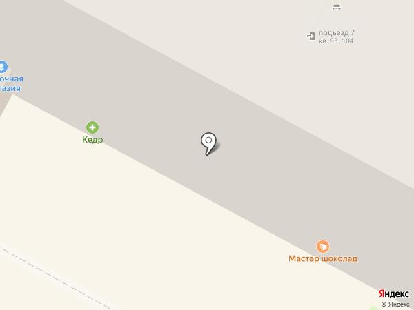 География на карте Бердска