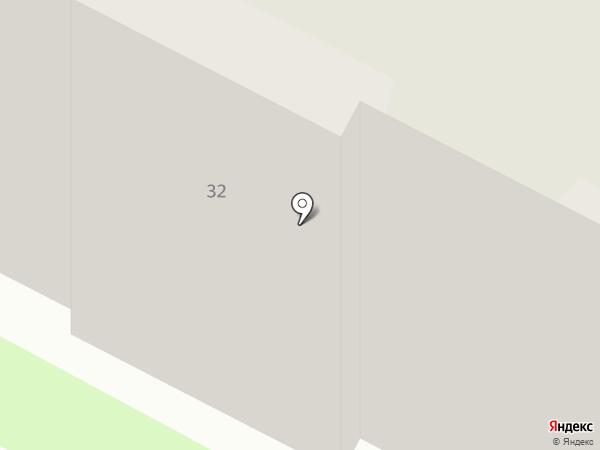 Участковый пункт полиции №2 на карте Бердска
