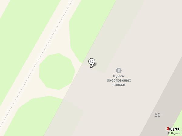 Научно-техническая библиотека на карте Бердска