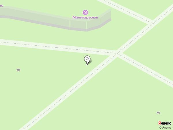 Инмарко на карте Бердска