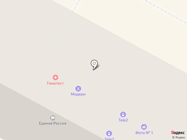 Инской, ЗАО на карте Бердска
