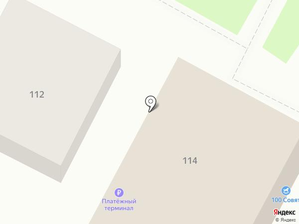 100 совят на карте Бердска