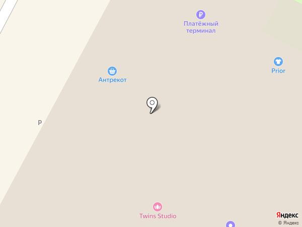 Антрекот на карте Бердска