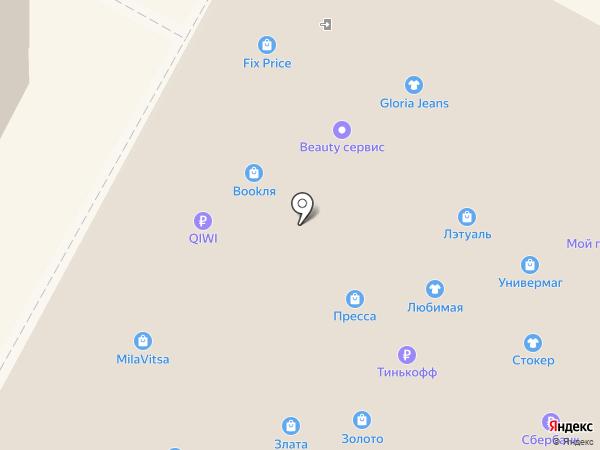 Карат на карте Бердска