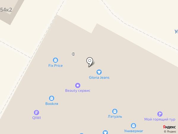 Yota на карте Бердска