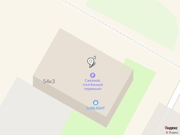 Связной на карте Бердска
