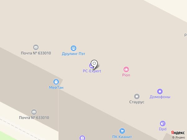 Ростелеком на карте Бердска