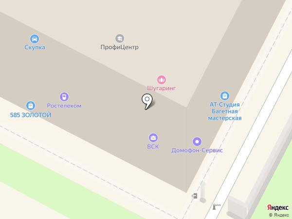 ВСК, САО на карте Бердска