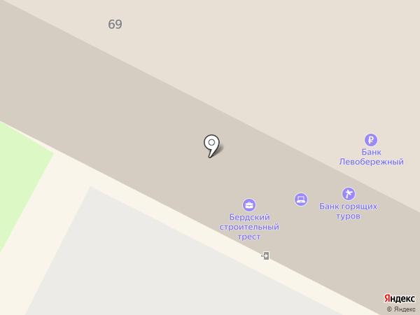 Веста Мебель на карте Бердска