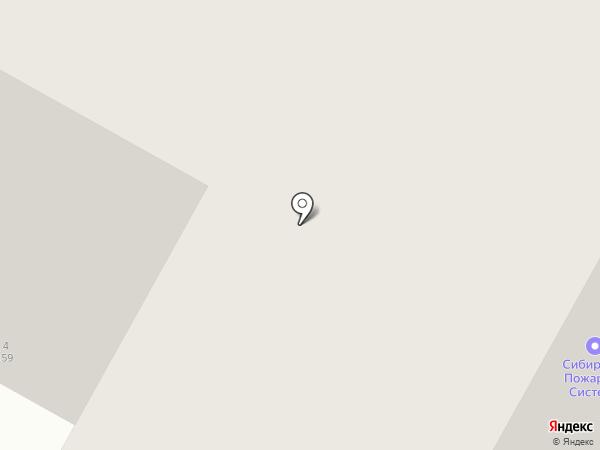 СК Р-Строй на карте Бердска