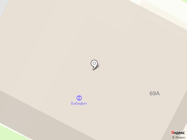 А-спорт на карте Бердска