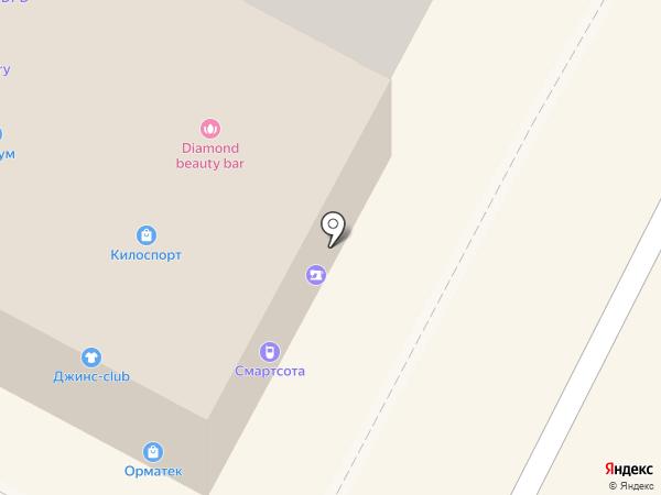 Новолит на карте Бердска