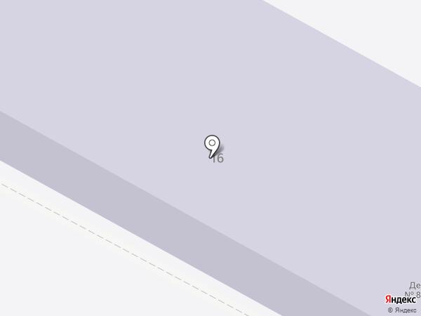 Детский сад №8 на карте Бердска