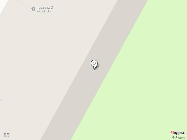 Планета на карте Бердска