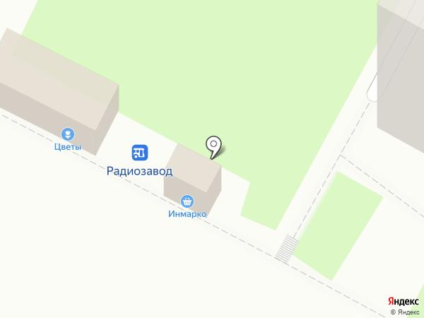 Цветочный магазин на карте Бердска
